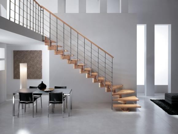 escaliers ile de france escaliers droits. Black Bedroom Furniture Sets. Home Design Ideas
